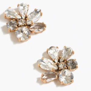 J crew Clutter stone earrings
